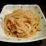 真鱈のたらこのつきこんが北海道では定番。しかし助宗でも美味~っ!