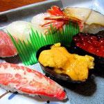 当然、お寿司は文句なし!