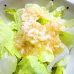野菜サラダのドレッシングにも相性抜群。