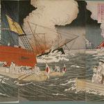 24日清大戦争我海軍大勝利