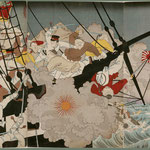 18日清海戦の図
