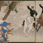 88征清第一軍九連城占領