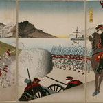 50朝鮮国成歓日本大勝利之図