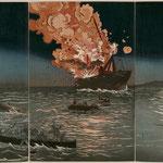 14朝鮮豊島海戦之図