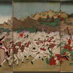 37朝鮮牙山清兵逐戦之図