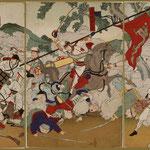 42朝鮮国牙山開戦日本大勝利之図