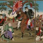 66朝鮮平壌日本大勝利之図