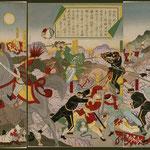 81日本大勝利平壌攻撃ノ図