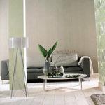 Natürlich Grün - das frühlingshaft wirkende Wohnzimmer