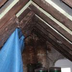 Dachgeschoss vor den Arbeiten