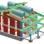 Edificio residenziale - Verifica e Rivalutazione sismica di un edificio misto (muratura - c.a.)