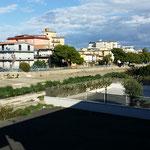 Riqualificazione del fiume e di via lungo Testene nell'ambito degli interventi di difesa dall'erosione della costa dell'abitato in località lido Azzurro (prima)