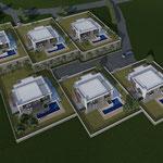 Lavori di ristrutturazione dei fabbricati da destinare a villette unifamiliari