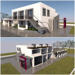 Lavori per la realizzazione di un immobile da destinare a residence