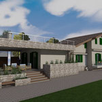 Lavori di ampliamento di un fabbricato residenziale (piano casa)