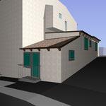 Lavori di ristrutturazione edilizia di un immobile nel centro storico