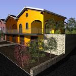 Lavori di ricostruzione di un fabbricato da destinare all'edilizia residenziale sociale