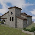 Lavori di costruzione di una villetta unifamiliare
