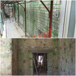 Interventi strutturali per la riduzione della classe del rischio sismico in Agropoli (durante)