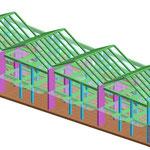 Villette a schiera residenziali - Struttura in c.a. e legno - Agropoli (SA)