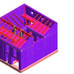 Edificio residenziale - Verifica e Rivalutazione sismica di un edificio misto (muratura - c.a.) - Laureana C. (SA)