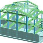 Fabbricato residenziale - Struttura in c.a. - Monteforte C. (SA)