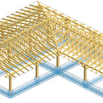Edificio pubblico (scuola) - Struttura in legno lamellare - Montecorvino Pugliano