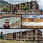 Lavori di costruzione della scuola primaria di Filetta del Comune di San Cipriano Picentino (in corso)