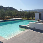 Realizzazione di una piscina di pertinenza ad un country house