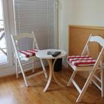 Gästehaus Kirschgarten - Ferienwohnung - Sitzecke