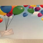 FK8: Luftballons mit Briefumschlag