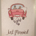 FK4: Just Married mit Dosen am Auto