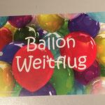 FK7: Ballon Weitflug