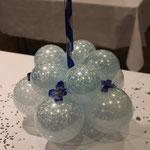 H17: Gewicht auf dem Tisch einer Hochzeitsdekoration