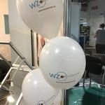Wundzentrum // 28 cm Ballons // 2-farbig und einseitig