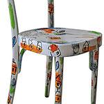 """""""sedia di piero"""" (acrilico)"""