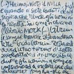 """""""Appunti sul Nulla"""" acrilici, carboncino e tratto a matita su tela (3) cm24x24 (1)"""