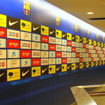 Pressroom of Camp Nou Stadium, Barcelona