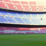Stadium of Camp Nou, Barcelona