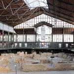 Mercat de Born mit römischen Überresten