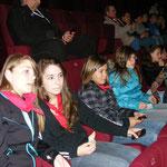 Près à encourager Eliette, Lilian et Micka lors du Grand Prix