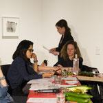 Lecture performance von CALL im Kontext der Ausstellung  FEMINISTISCHE AVANTGARDE: Vorbereitungen