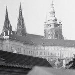 Blick auf den Ratschin, das Wahrzeichen Prags