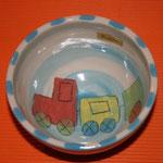 "Kinder - Keramikschüssel ""Eisenbahn"" / Artikel - Nr. 5211/ 14,- €"