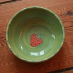 "Kinder - Keramikschüssel ""Erdbeere"" / Artikel - Nr. 5204/ 14,- €"