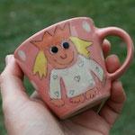 "Kindertasse Mini / Motiv: ""Kleine Prinzessin"" Artikel - Nr 5018 / 14,- € (H 7 cm ∅ 7,5 cm, 170 ml)"