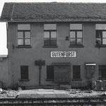 letzte DDR - Bahnstation: Gutenfürst