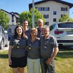 Gruppenfoto - Nadja, Corsin C, Yvonne, Corsin D, Placi