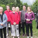 Jugendtag 2017 G50m Anja C., Sandro S., Tino C., Lorena C., Chris W., Chiara W. v.l.