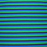 Streifen grün-marine-blau